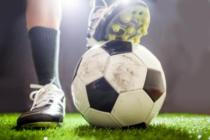 Soccer Training on the EduKick England Pitch