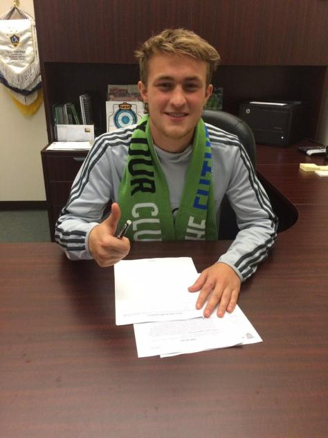 Duncan McCormick - Sounders Signing